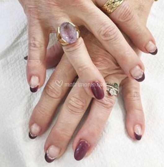 Gel e manicure