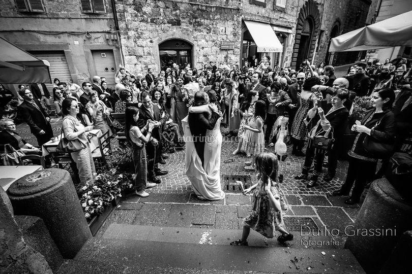 Sposi ad Orvieto