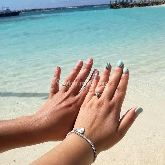 Veronica e Simone, Bahamas