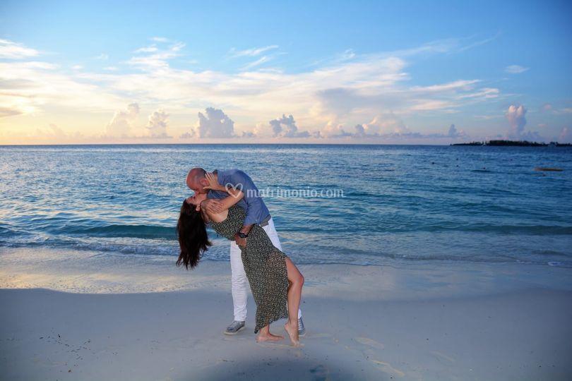 Ambra e Aniello, Bahamas