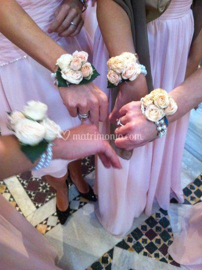 Bracciali di fiori