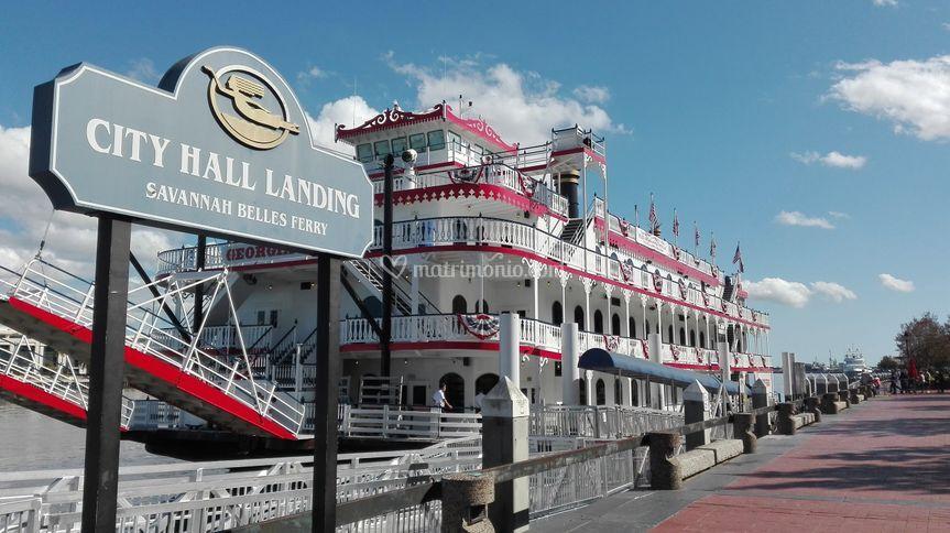Savannah River Boat, USA