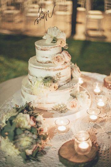 Torta Matrimonio Country Chic : Il loft eat love
