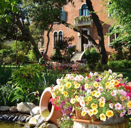Giardino villa Lido