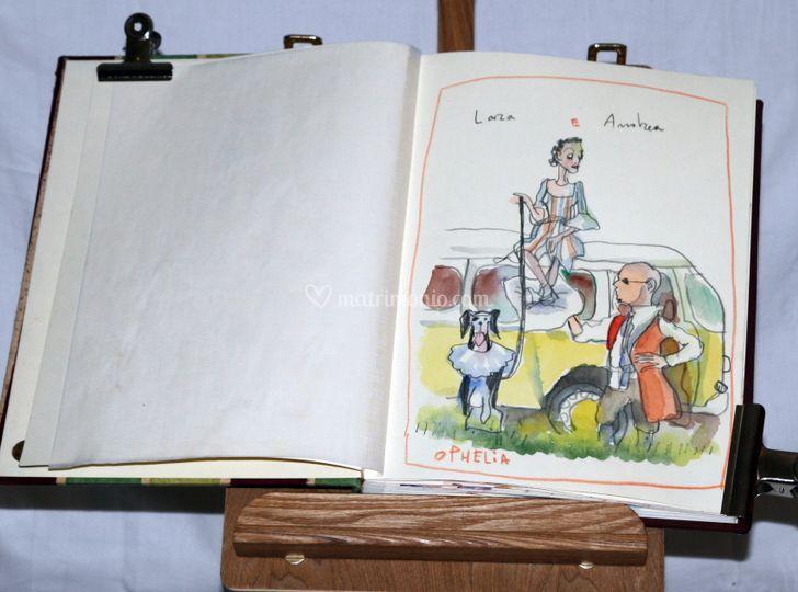 Ritratti e caricature