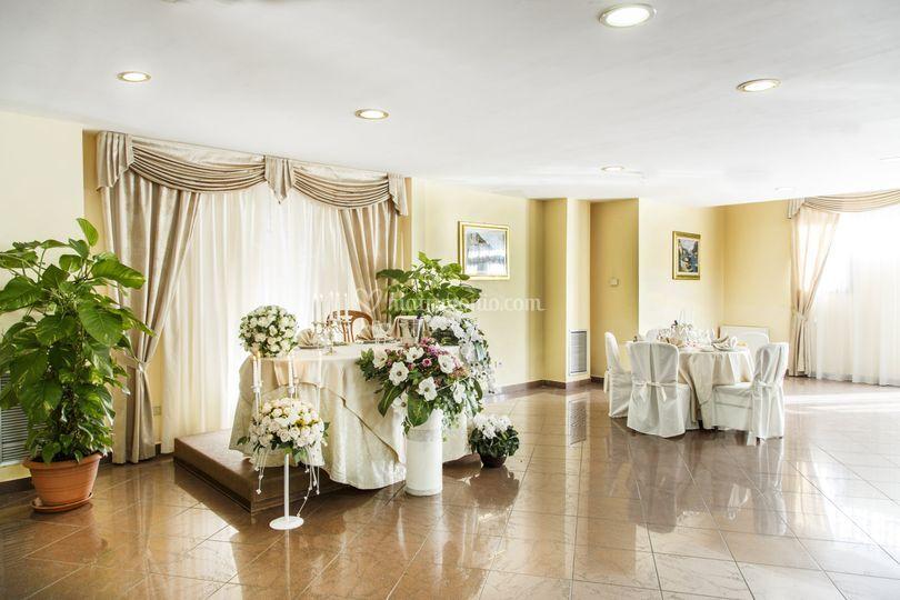 Tavolo sposi magnolia