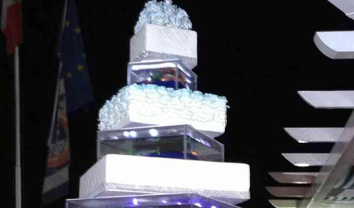 Torta gran gala cake design