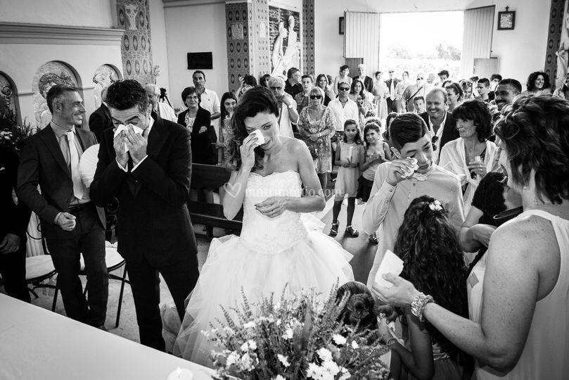 Emozioni in chiesa