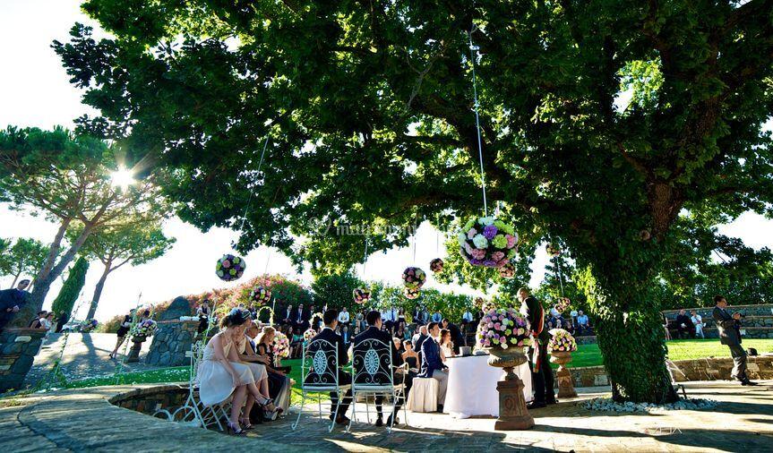 Cerimonia sotto la quercia