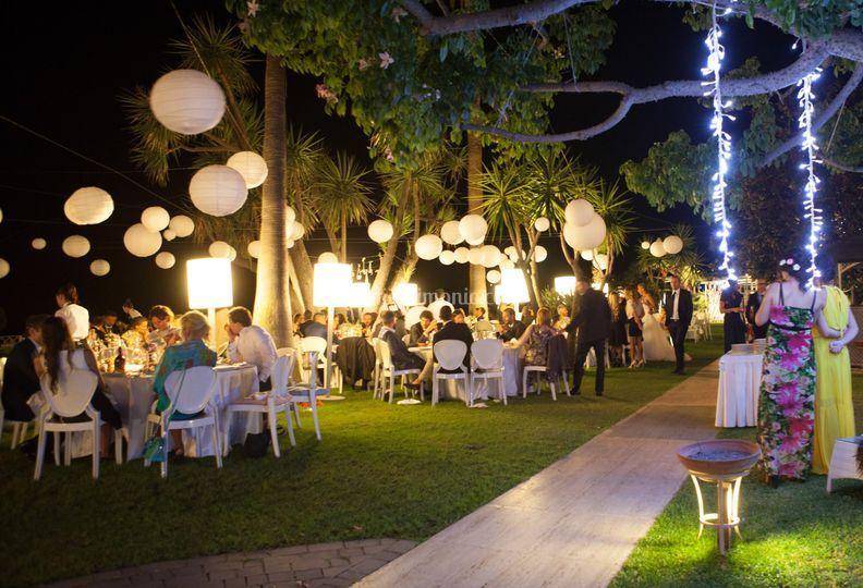 Molto Ricevimento all'aperto di Hotel Caparena Taormina | Foto 59 QI88