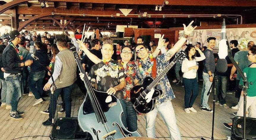 Joe Billy Band Hawaiian Party