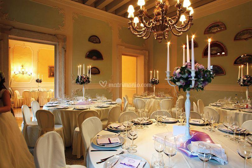Mise en place Villa Sigurtà