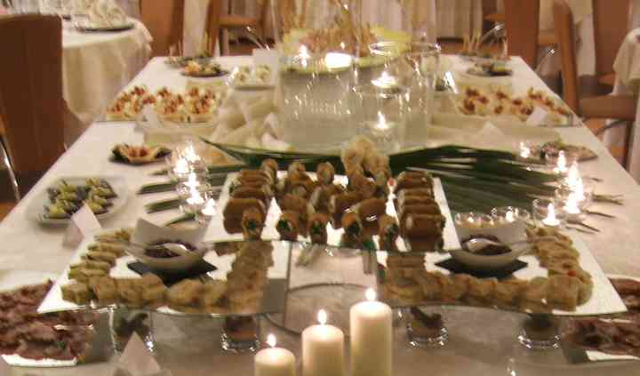 Buffet con fingerfood