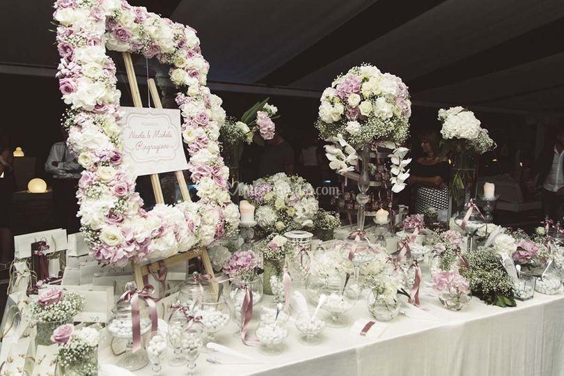 Matrimonio romantico di Silvia Wedding  795c15e0d76
