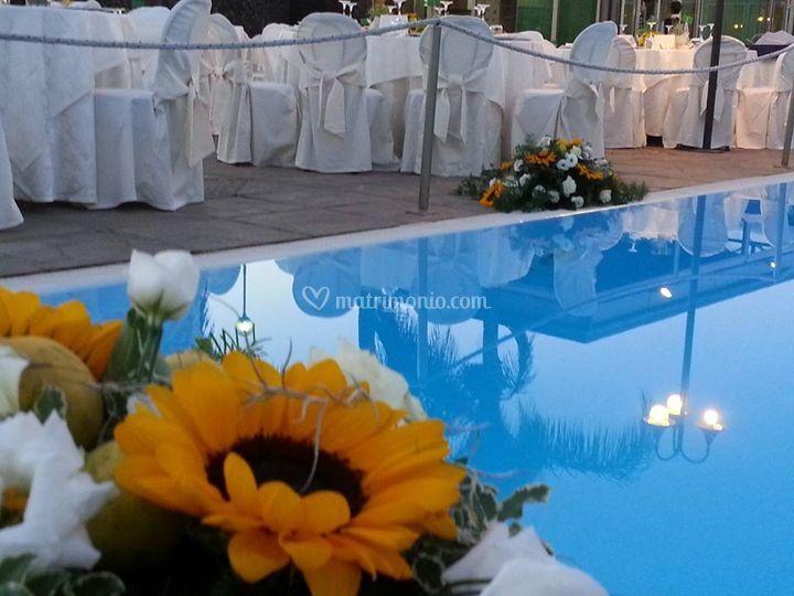 Atlantis palace hotel for Matrimonio bordo piscina