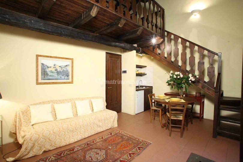 Barn apartment Villa Deciani