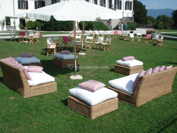 Villa gallici deciani - Allestimento giardino ...