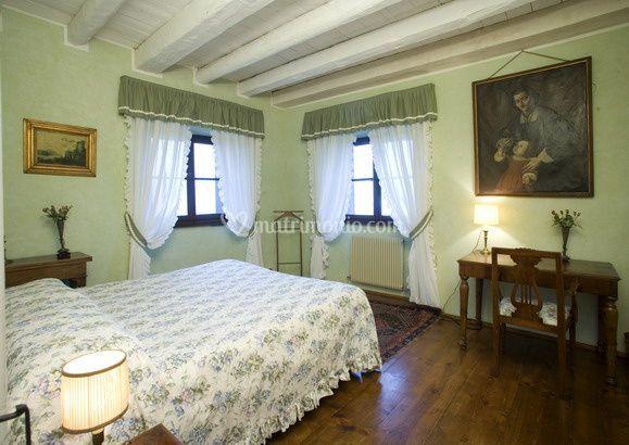 Suite verde Villa Deciani