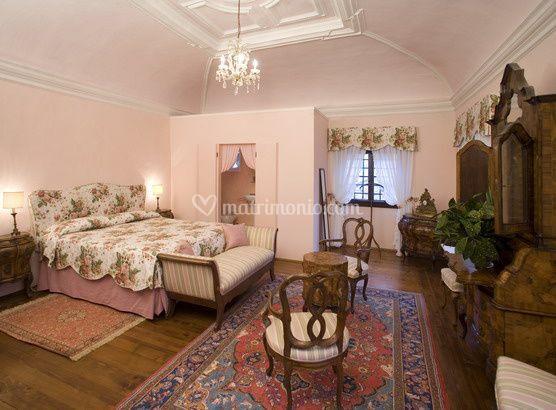 Pink room Villa Deciani