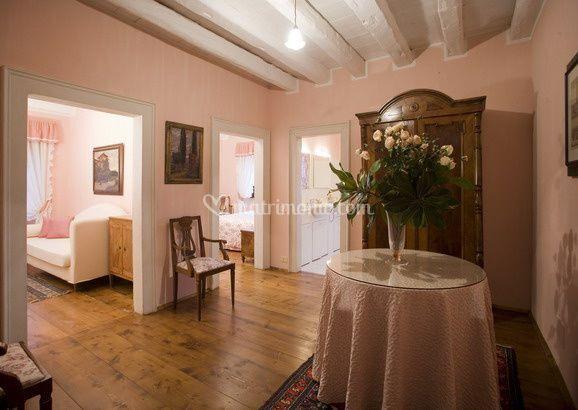 Suite rosa Villa Deciani