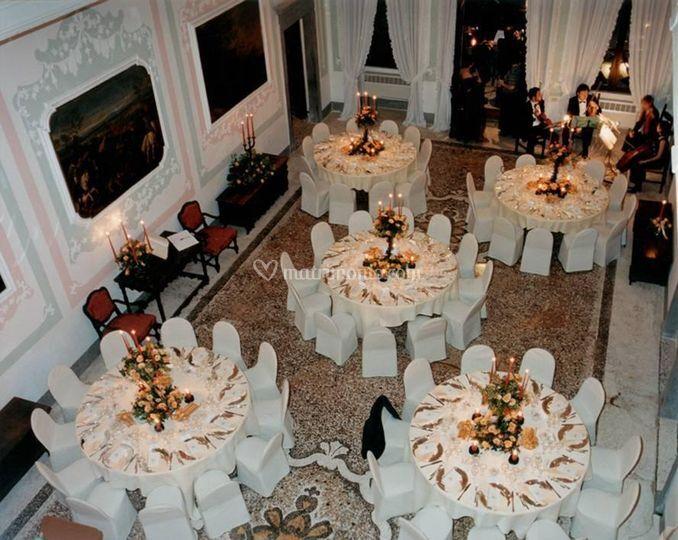 Tavoli per pranzo di gala