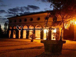 Villa Gallici Deciani - Vista notturna