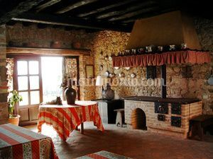 Cucina Villa Gallici Deciani