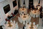 Tavoli per pranzo di gala di Villa Gallici Deciani