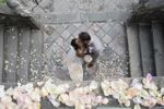 Immagine dalla scala principale di Villa Gallici Deciani