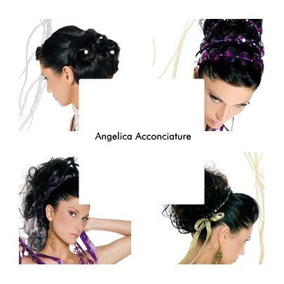 Angelica acconciature