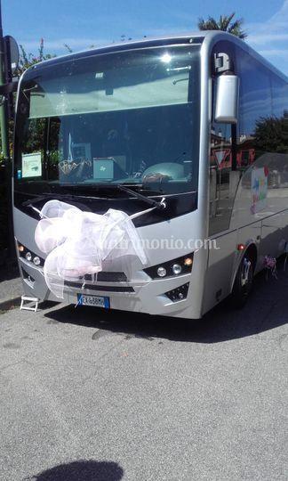 Trasporto invitati tramite bus