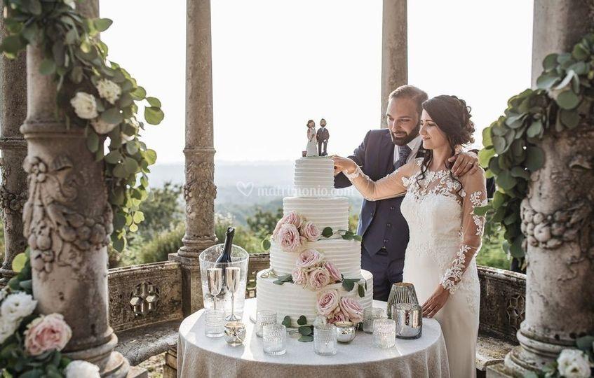 Taglio torta Belvedere