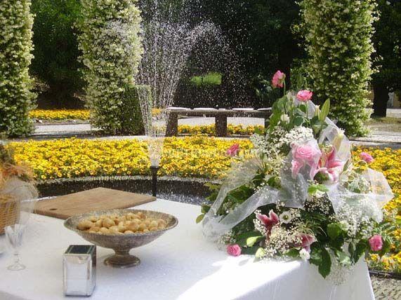 Giardino villa frascoli