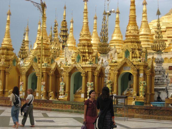 Birmania - shwedagon pagoda