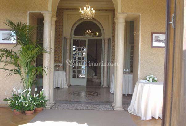 Entrata villa frascoli