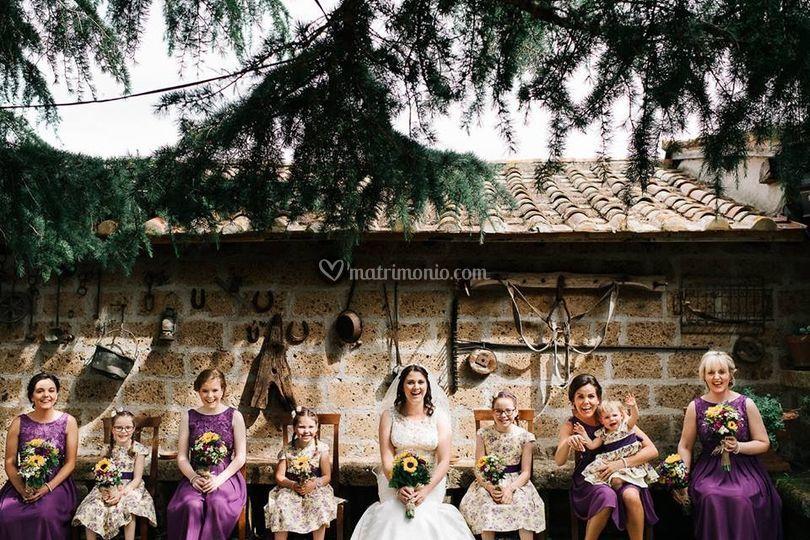 Sposa e Damigelle Zia Cathy's