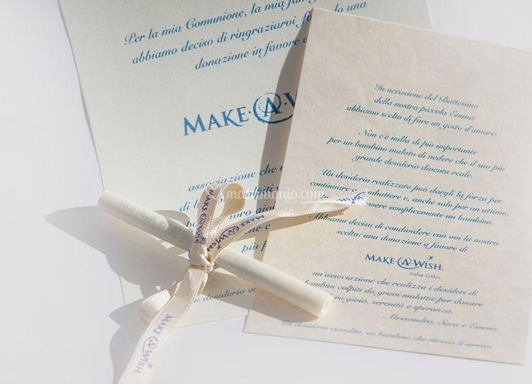 Pergamena Make-A-Wish