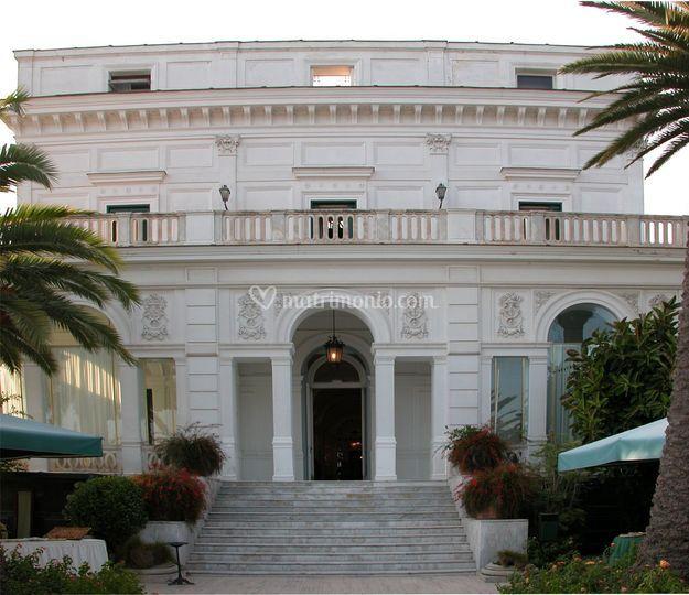 La villa di Villa Cilento