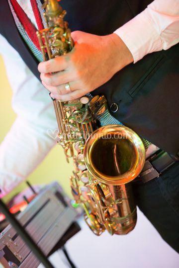 Sax performance