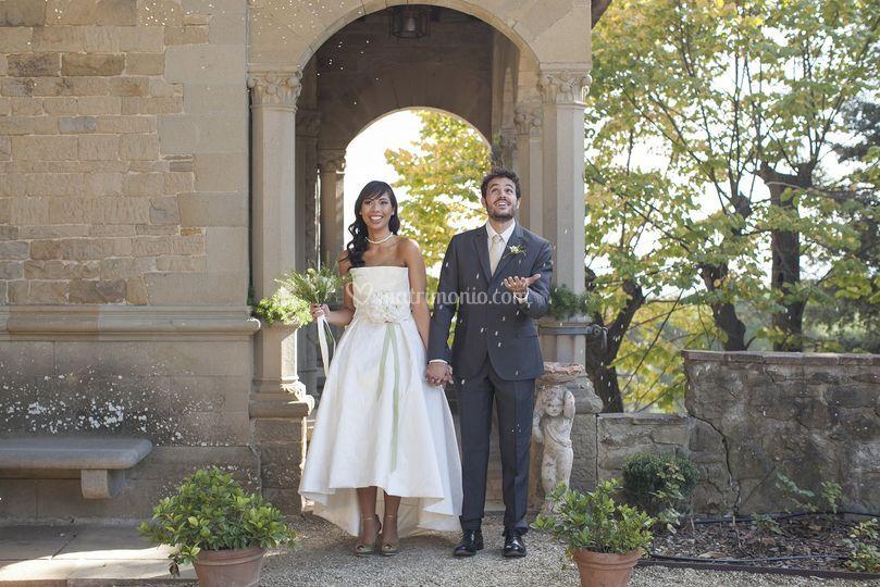 Modern classic bride dress