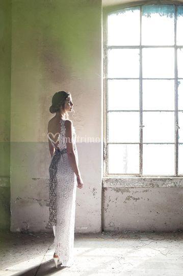 Macramè haute couture back