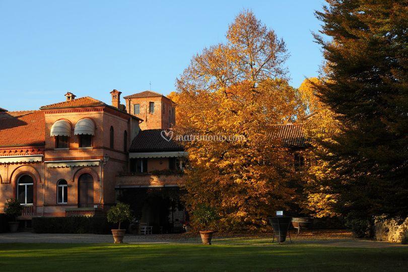 Esterno Villa autunno