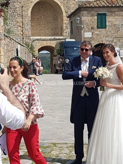 La sposa sta per entrare!