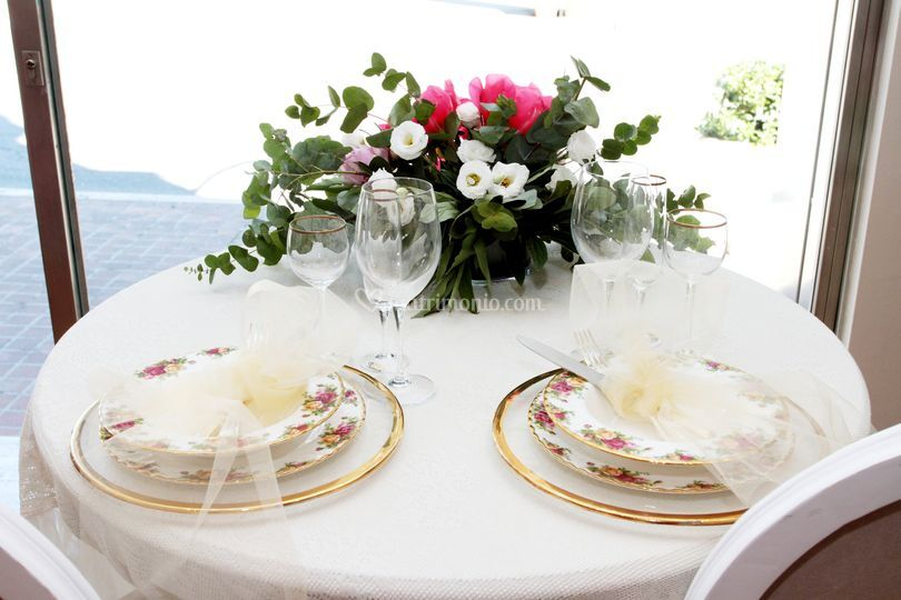 Top table romantico