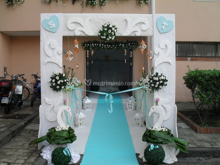 Addobbi Matrimonio Azzurro Tiffany : Tiffany di allestimenti e addobbi foto