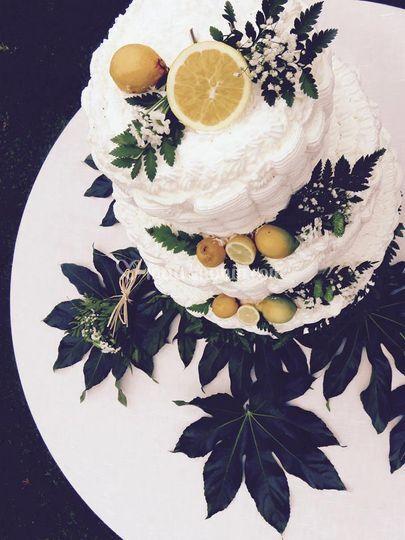 TOrta profumo di limone