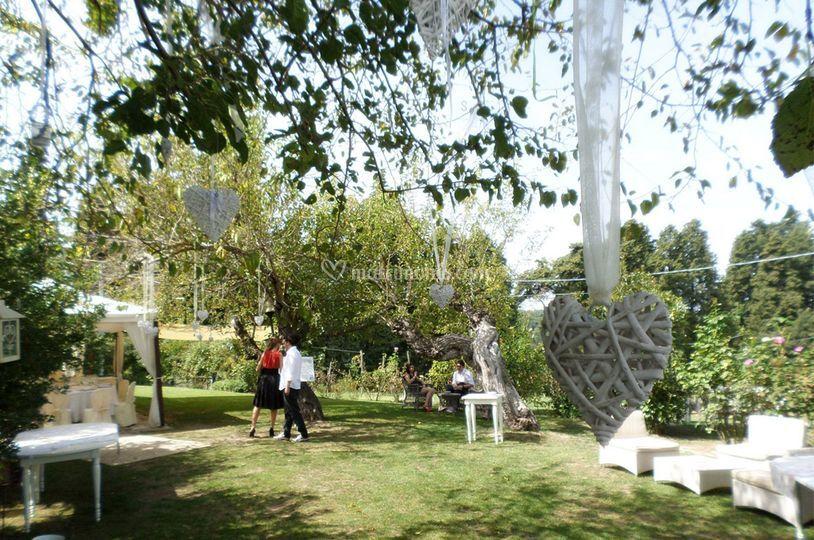 Linea bianca - Allestimento giardino ...
