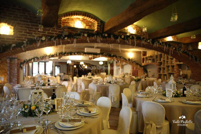 Sala tavoli rotondi