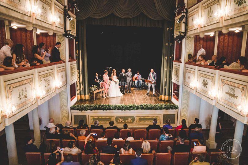 Rito civile in teatro