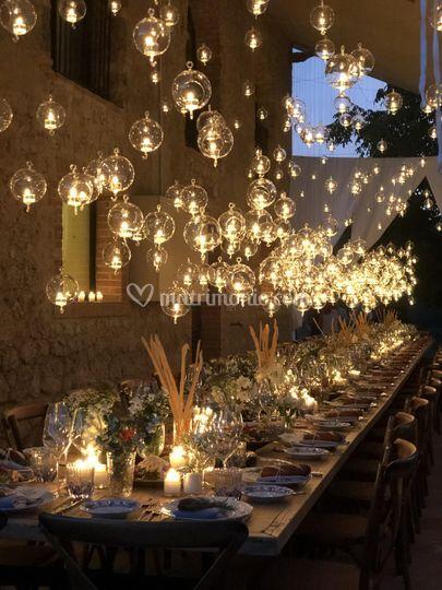 La tavola illuminata